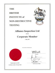 Alliance BINDT Corporate Member