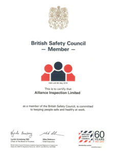 Alliance British Safety Council Member