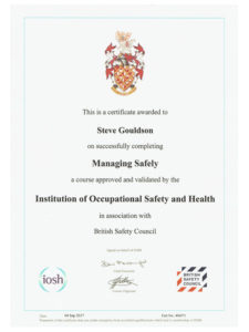 IOSH Institution of Occupational Safety & Health